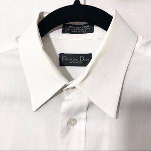 Christian Dior men's white button down